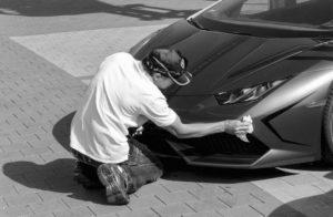 Sportwagen Autopflege